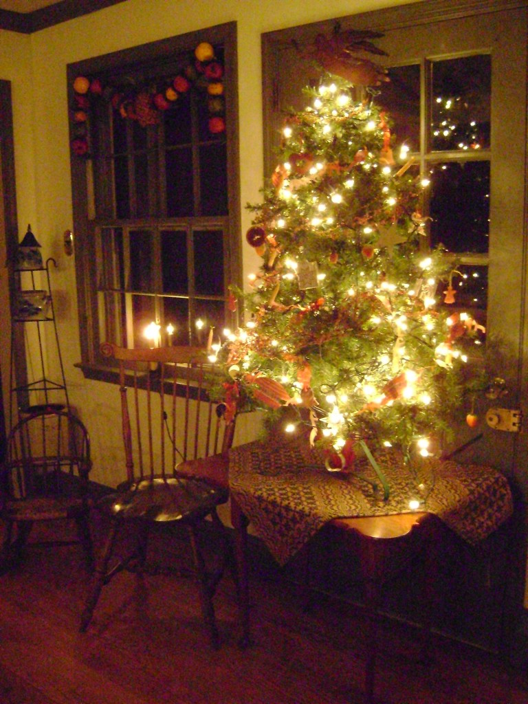 Christmas at Vintage American Home