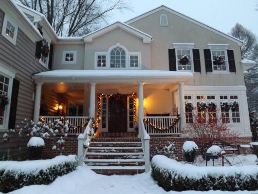 Christmas House Tour Vintage American Home