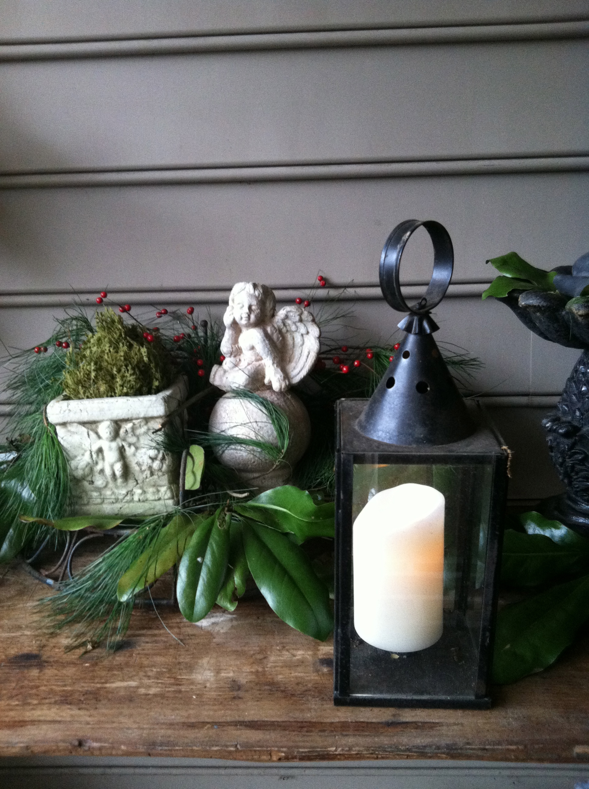 Mystique pillar candle