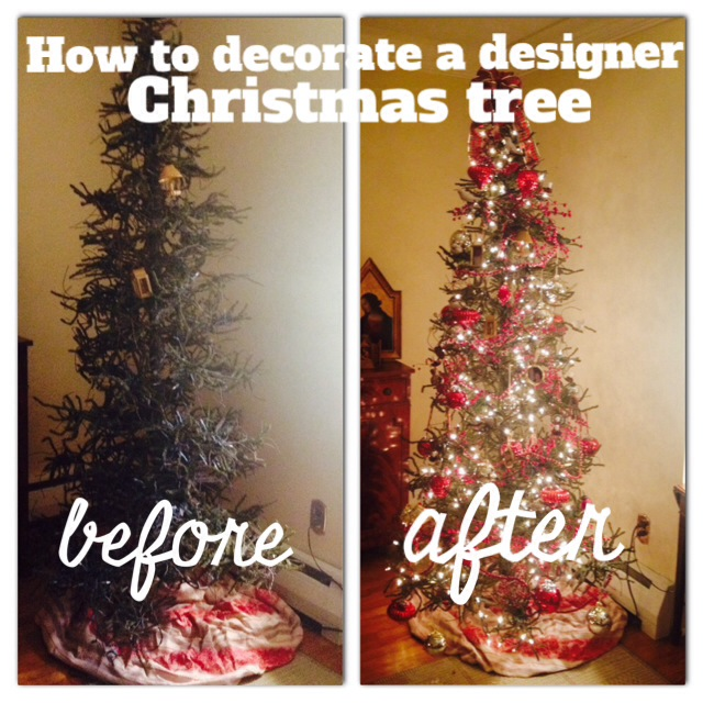here is my charlie brown christmas tree but its deceiving the bare branches are perfect for hanging ornaments from whether a fake or real tree always - How To Decorate A Designer Christmas Tree
