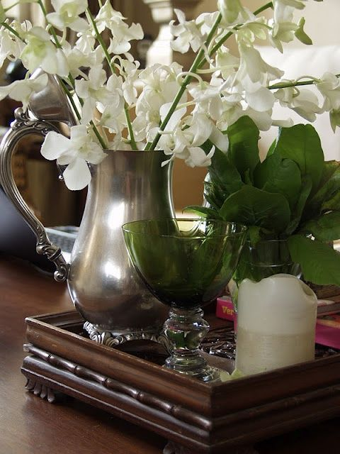 Coffee Table Decor Tray Centerpieces