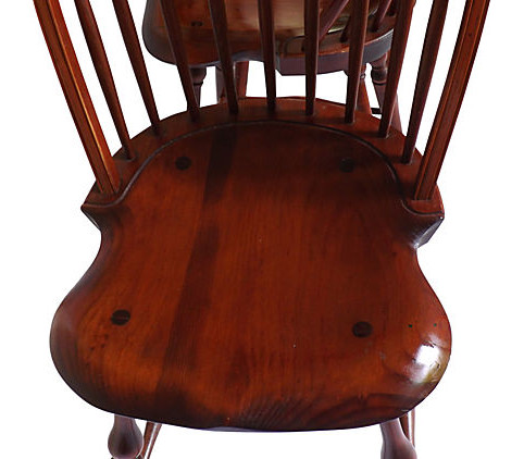 Sale! ?; ?  sc 1 st  Vintage American Home & Warren Chair Works of Rhode Island -Hand Made Windsor Stools ...