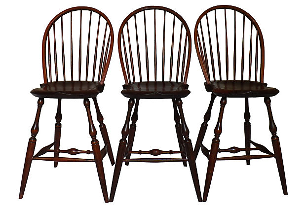 Warren Chair Works Of Rhode Island Hand Made Windsor
