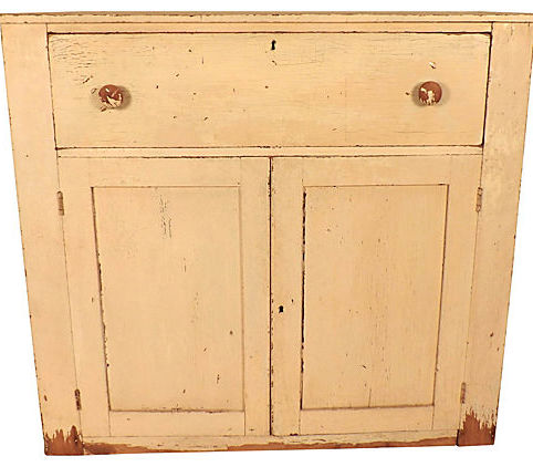Sale! ;  - Antique Jelly Cupboard - Vintage American Home
