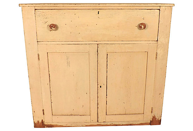 Sale! ;  - Antique Jelly Cupboard - Vintage American Home