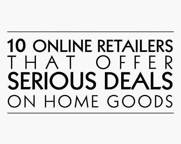 Vintage American Home voted tip ten retailers to get a good deal on home goods.