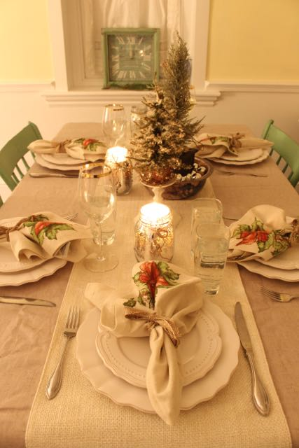 Christmas Dinner Table Setting & Christmas Eve in Emily\u0027s Victorian Apartment - Vintage American Home