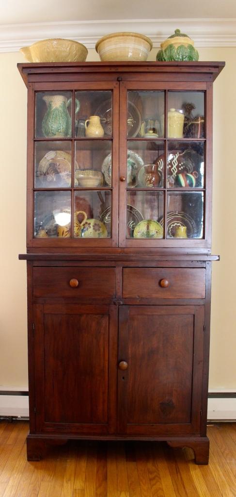 cabinet, yellow ware