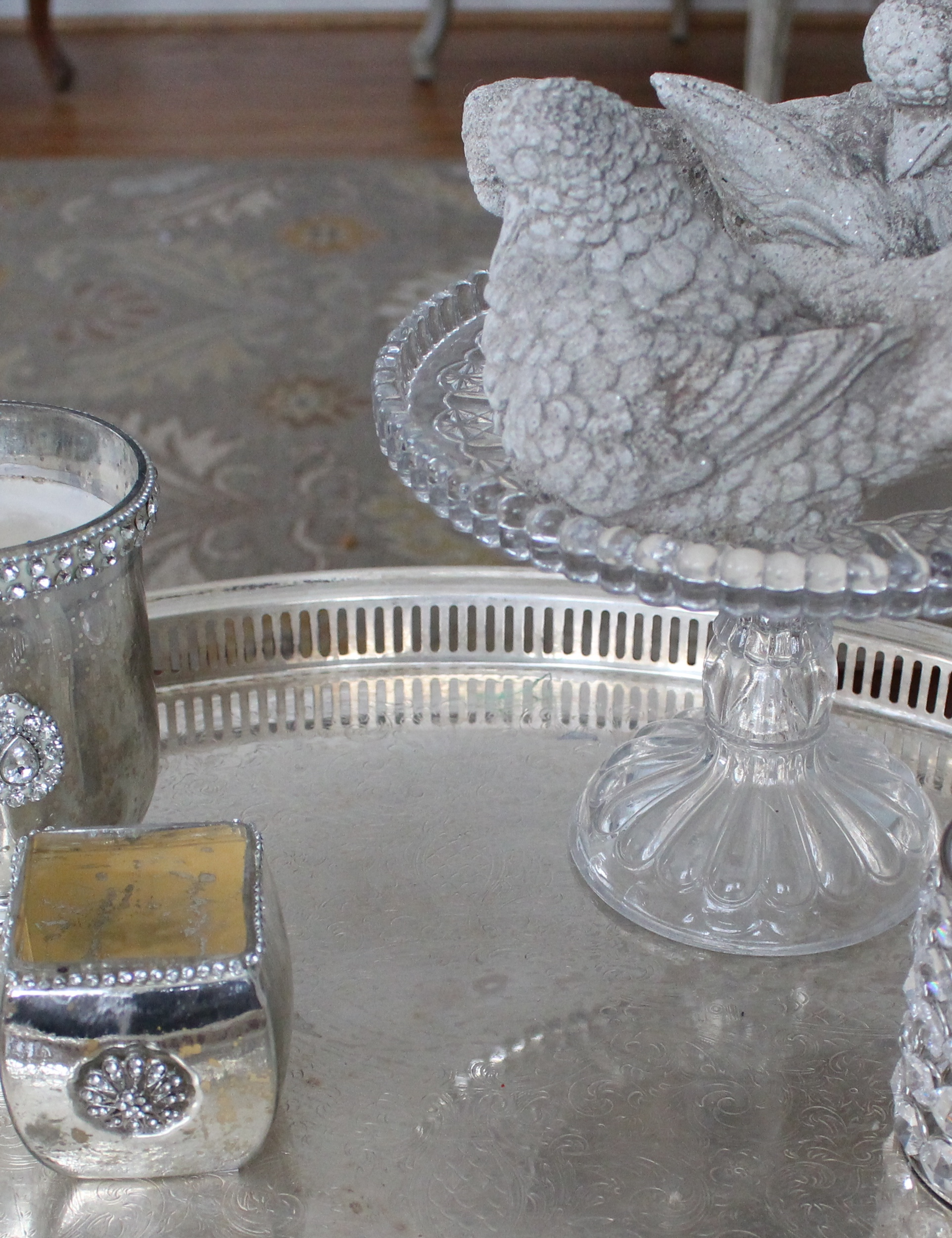 Using Trays   Ideas At Vintage American Home Blog