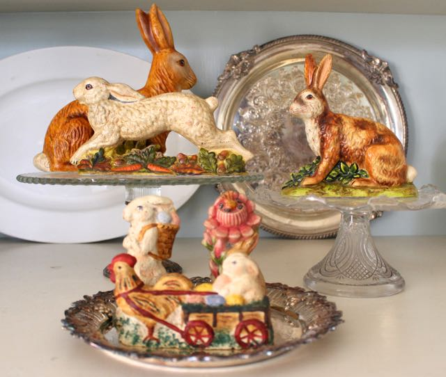 Easter Bunny Decorating From Vintage AmericanHome Blog