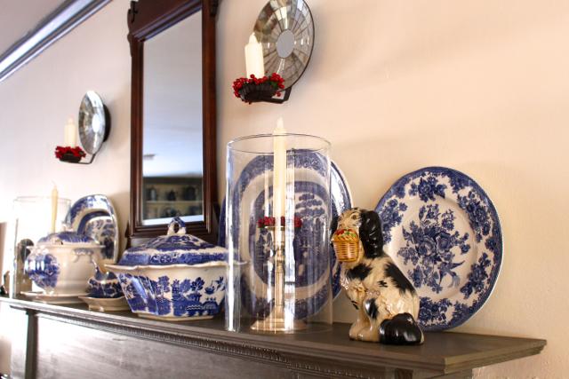 Vintage American Home Fireplace Mantel Ideas
