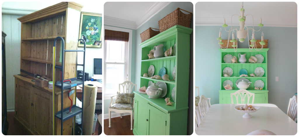 Before & After Painted Furniture from Vintage American Home .com