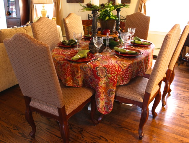 Decorating Ideas from Vintage American Home blog Table tops