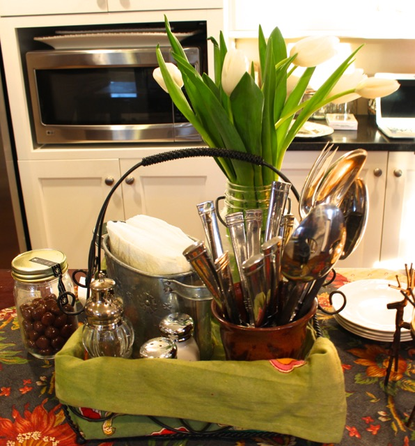 Decorating Ideas from Vintage American Home blog winter decor