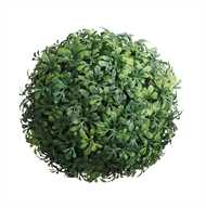 Artificial boxwood leaf ball /orb for display from Vintage American Home.com