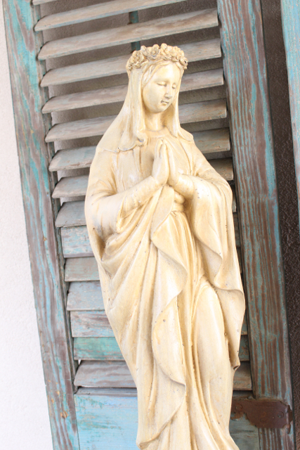 Our Lady of Lourdes Statue at Vintage American Home.com