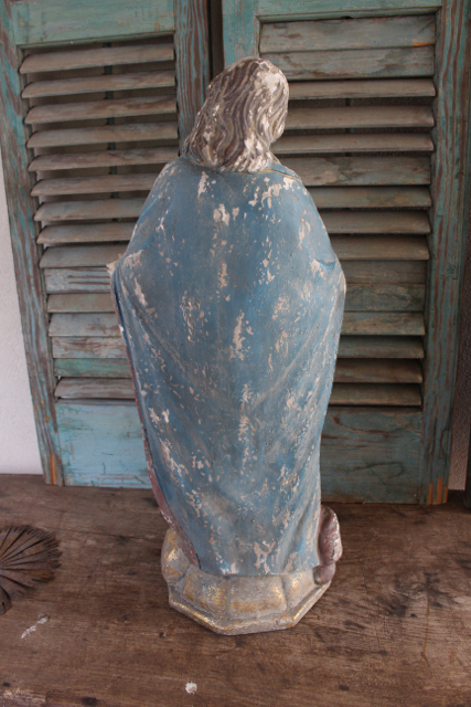 Back of statue