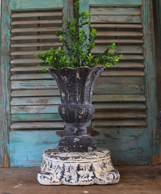 Vintage French Brocante style at vintage American Home