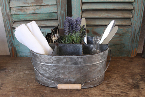 Farmhouse style caddy at Vintage American Home.com