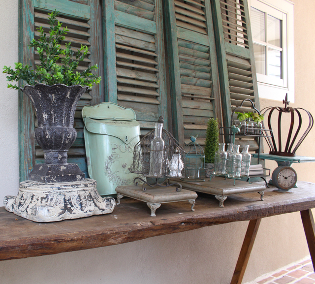Rustic Farmhouse Decor like Fixer Upper show from Vintage American Home.com