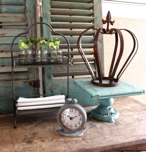 Vignette of Farmhouse products at Vintage American Home.com