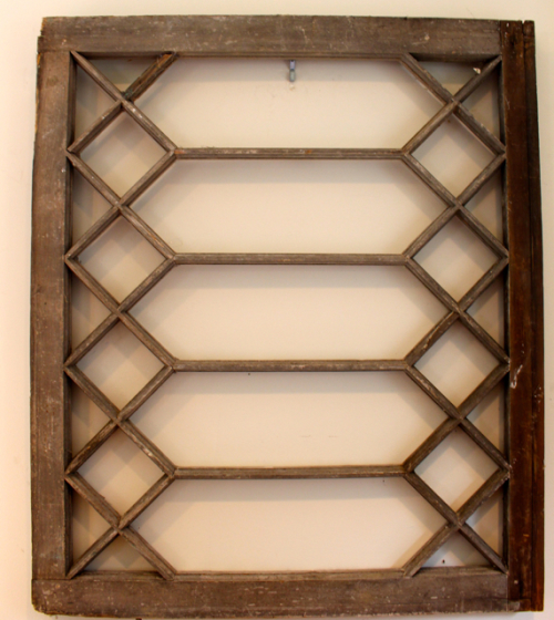 get the look of the show with an antique window frame for architectural use hang