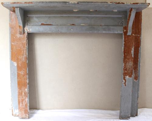 Antique oak mantel for that Look - Vintage American Home.com