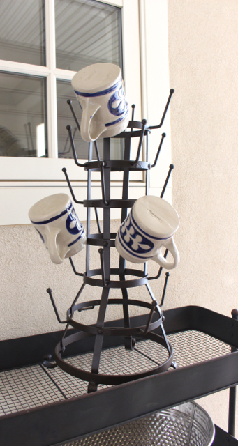 Standing Mug Rack Bottle Drying Rack or Mug Holder