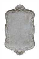 Distressed Metal tray for sale at Vintage American Home