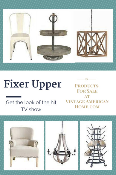 Decorate like the style of the fixer upper style show