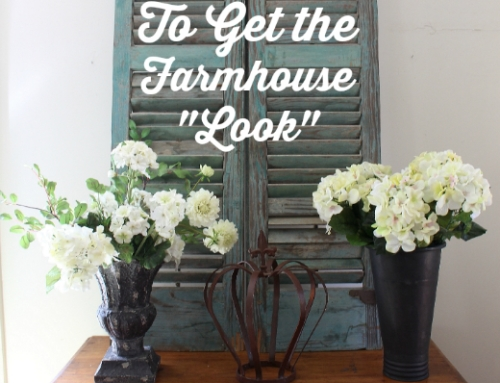 10 Inexpensive Ways to Decorate and the Farmhouse Look