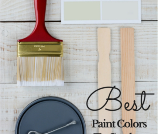 Best Paint Colors to get the Farmhouse Look from Vintage American Home blog
