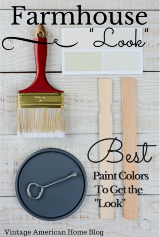 farmhouse look paint colors decorate like the pros