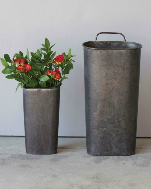 WAll bucket for door display for sale
