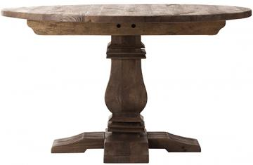 round farm look table