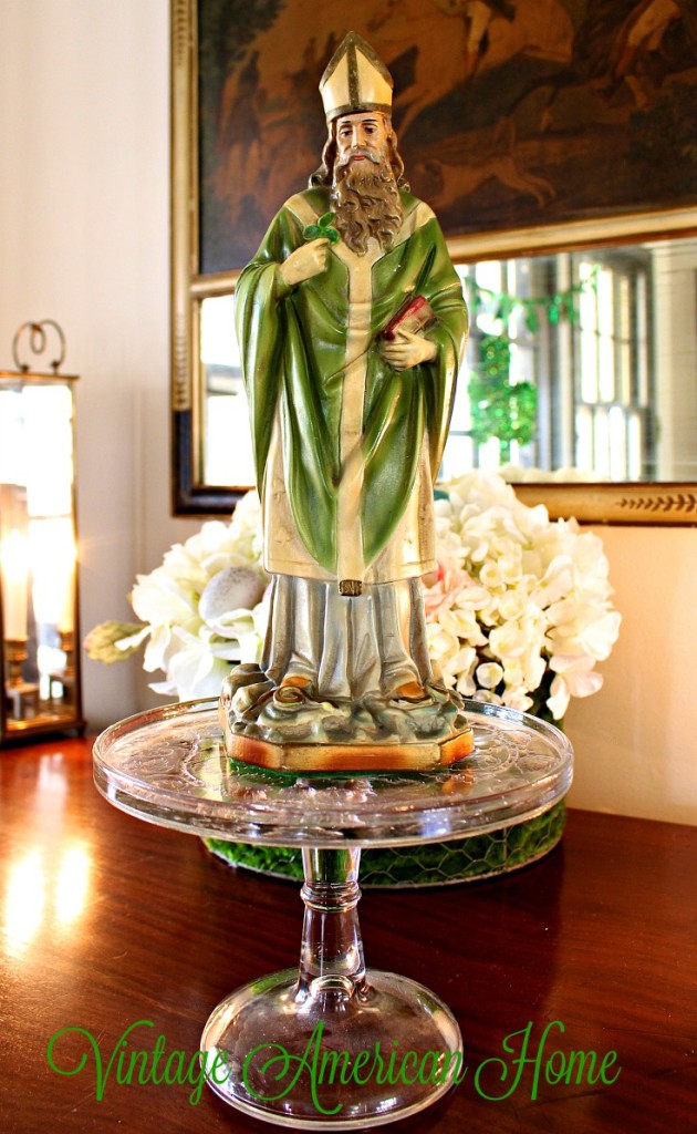 St. Patrick's Day decorating Ideas from Vintage American Home Blog