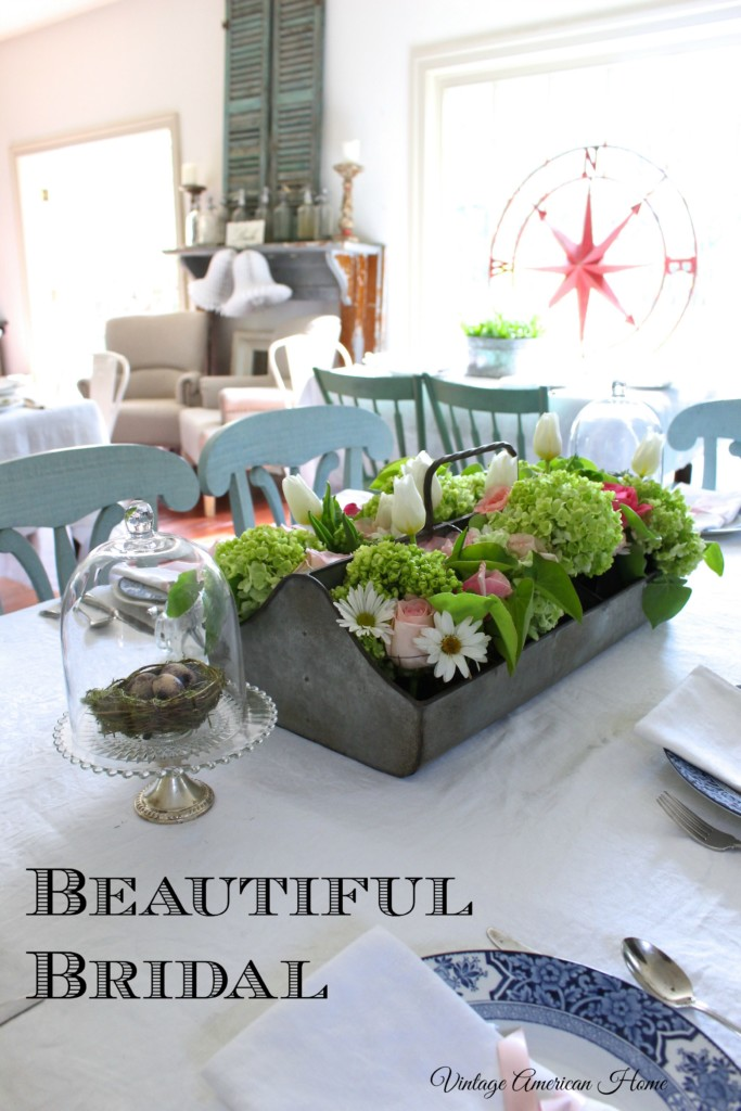 Beautiful bridal shower and wedding decor