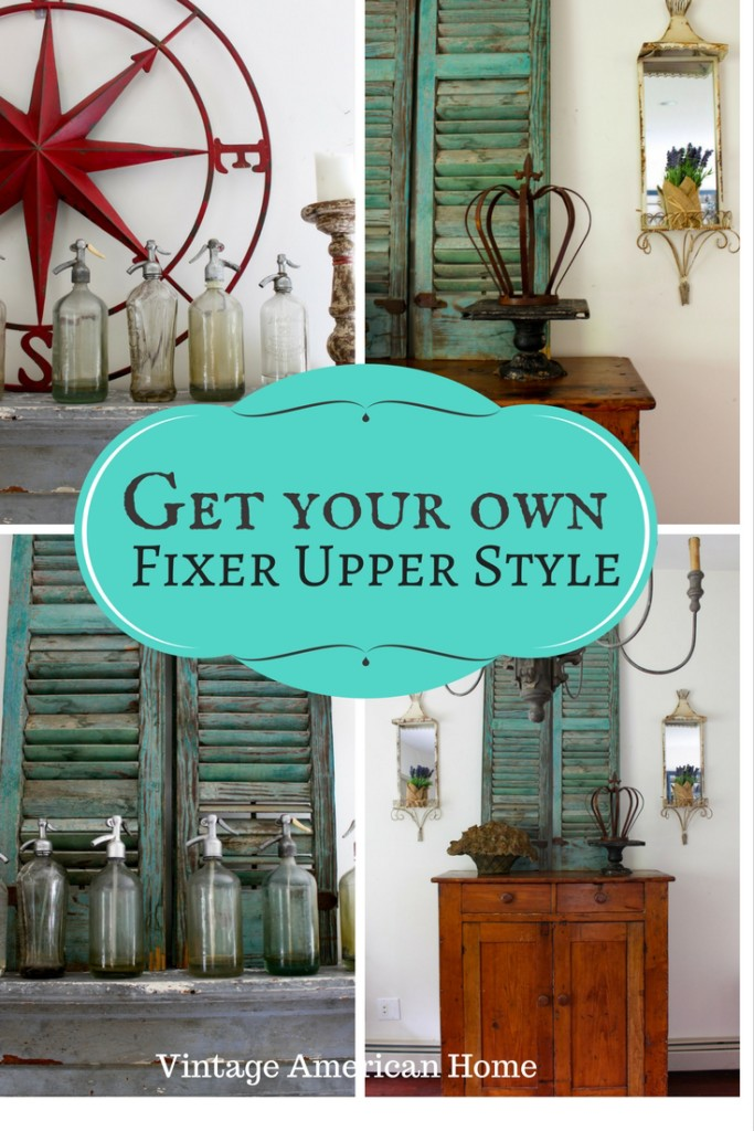 Decorating with fixer upper style in your own home - easy and inexpensive ideas