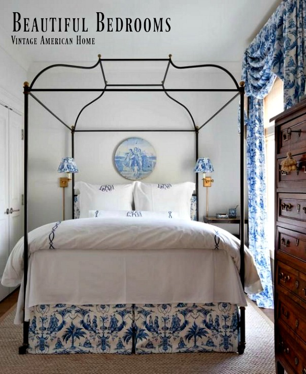 brass canopy bed for