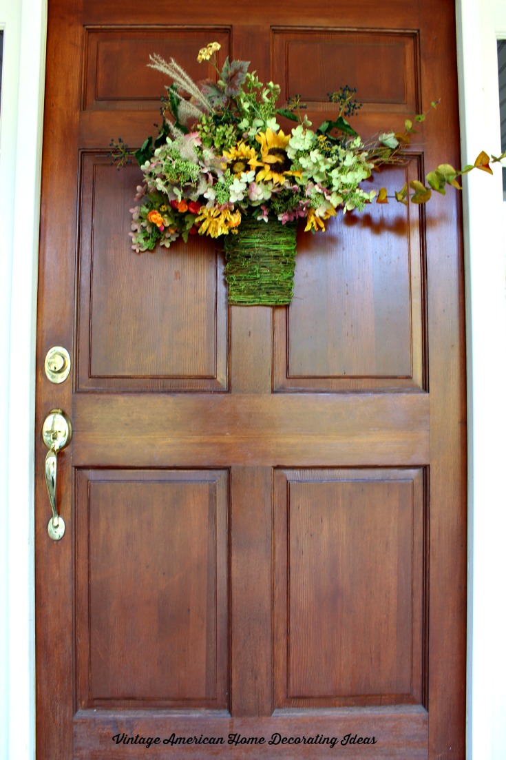 Fall decorating time vintage american home for Half door ideas