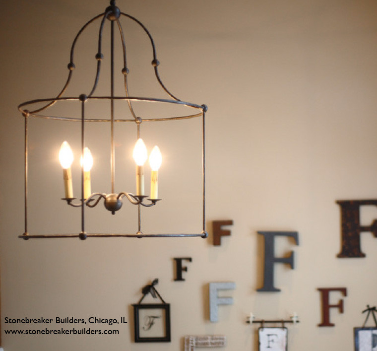 Lighting Your Fixer Upper- Choosing Light Fixtures That