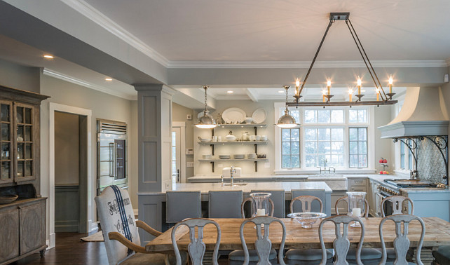 Get the fixer upper look with lighting that is open and unique