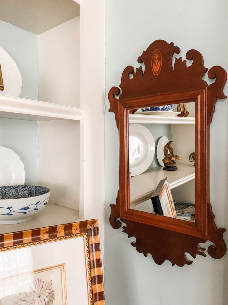 Chippendale hand made mirror