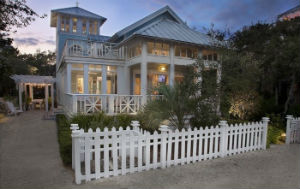 Coastal home ideas on Vintage American Home
