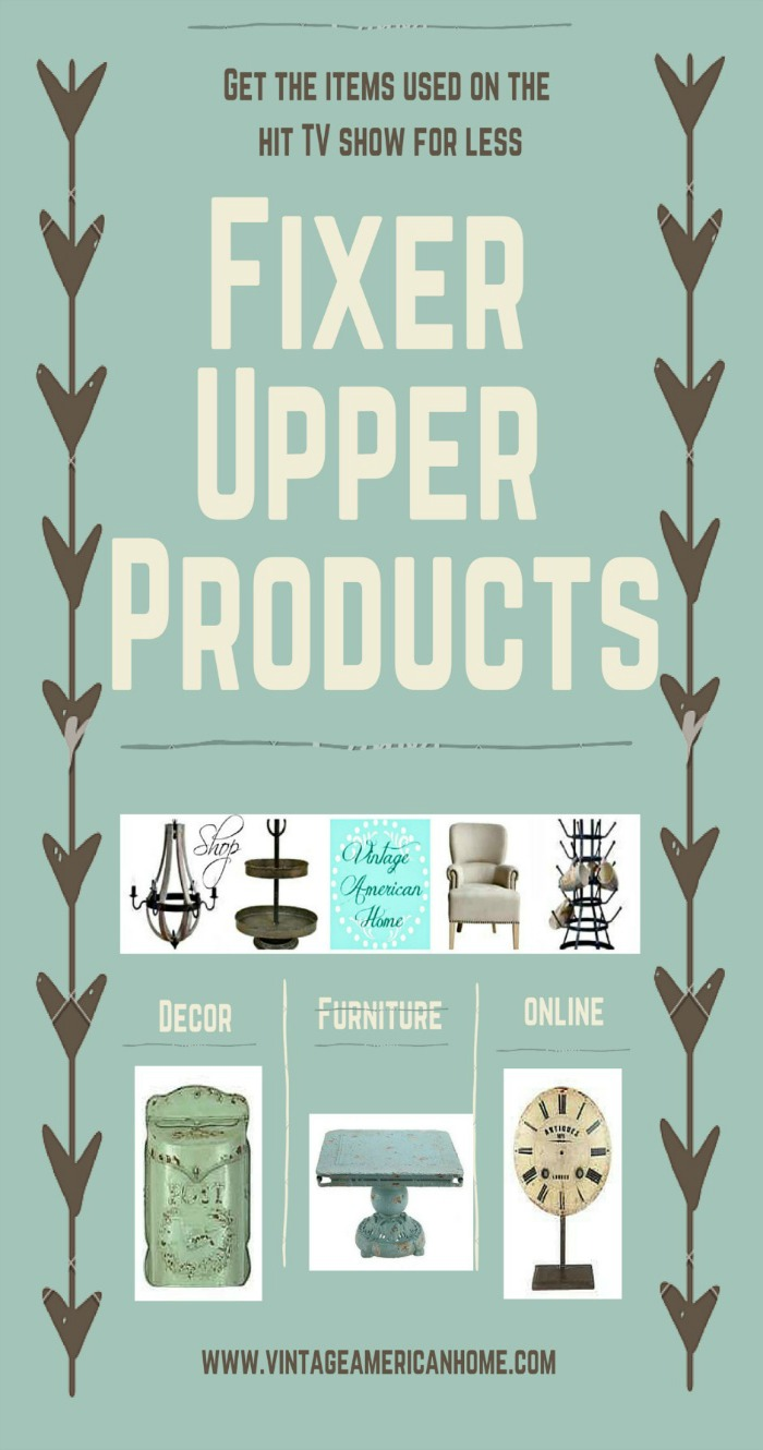 Where can I buy home decor items that will give me the fixer upper look?