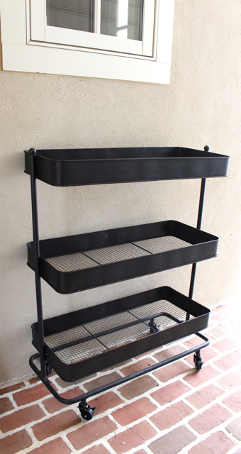 Use this rolling three tier cart for so many uses - Vintage American Home.com