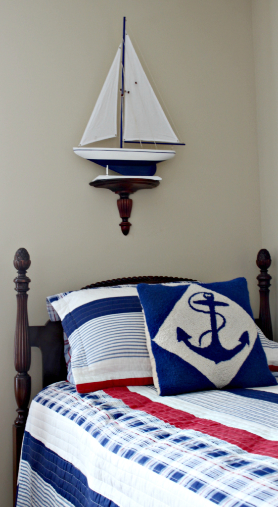 Easy coastal Decorating ideas from Vintage American Home Blog