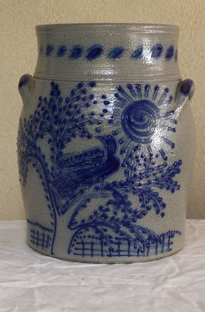 Stoneware crock for sale at Vintage American Home