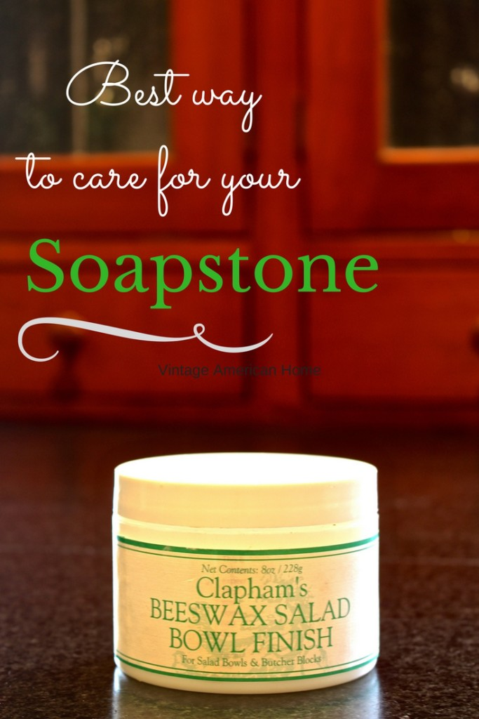 Best way to care for soapstone counters. Finally after all these years!